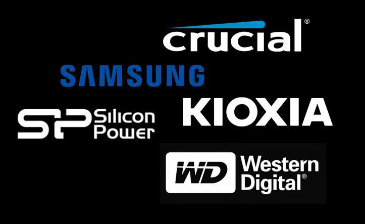 Marcas de SSD