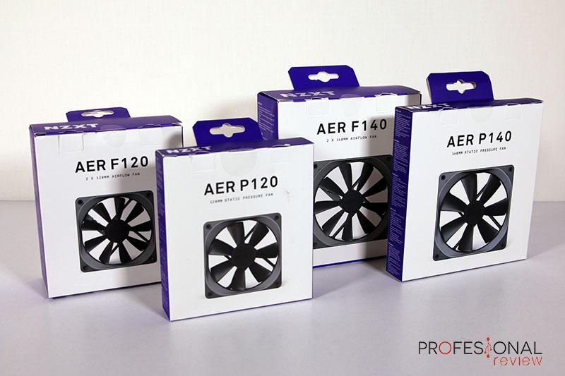 NZXT ventiladores