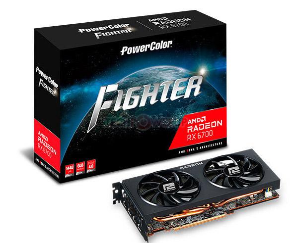 PowerColor rx 6700