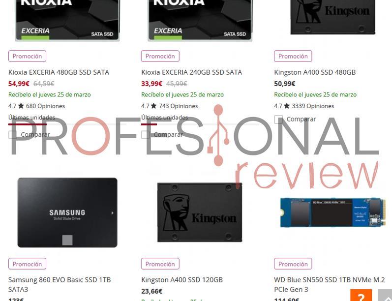 Precio SSD portátil