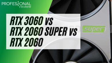 RTX 3060 vs RTX 2060 SUPER vs RTX 2060