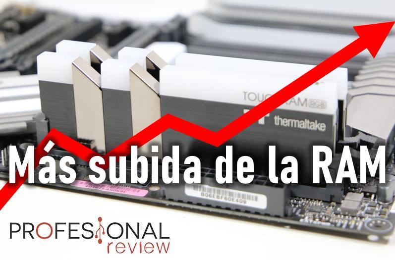Subida de precio de la RAM para PC