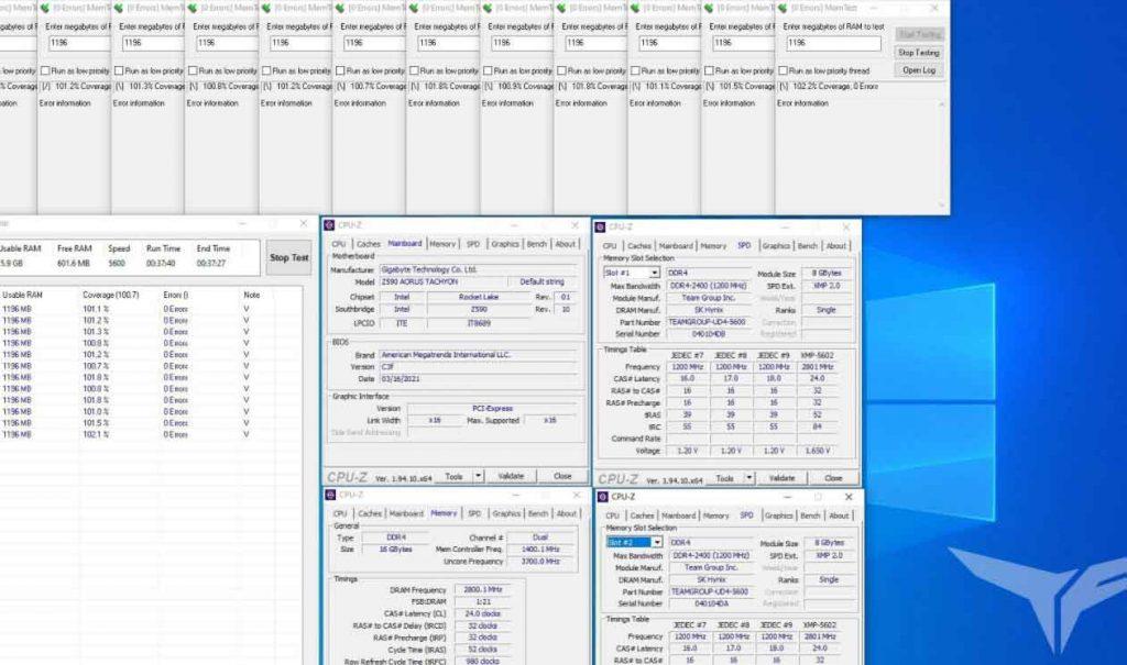 T-Force XTREEM DDR4 GIGABYTE