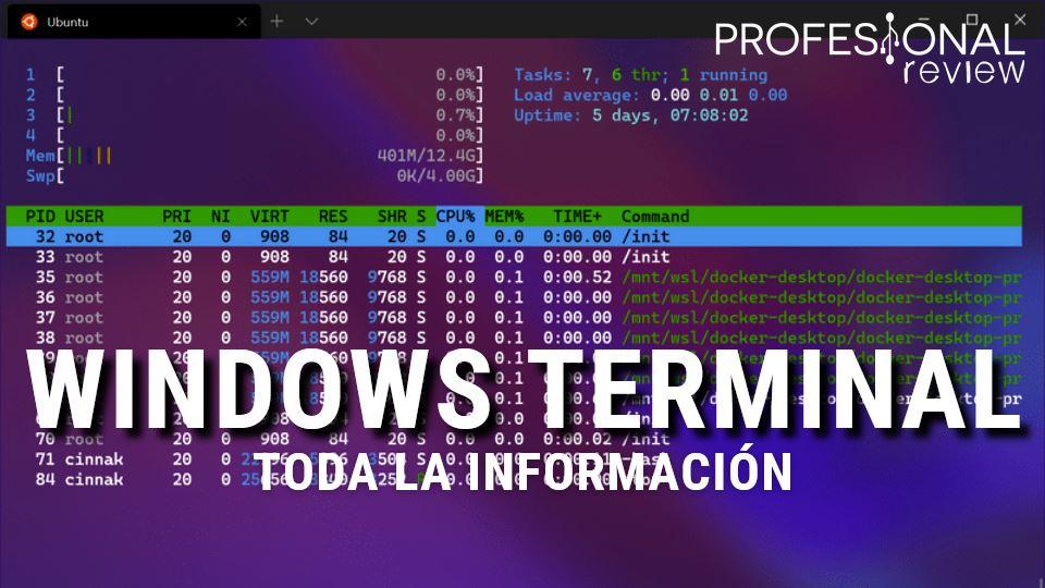 Windows Terminal: ¿qué es?