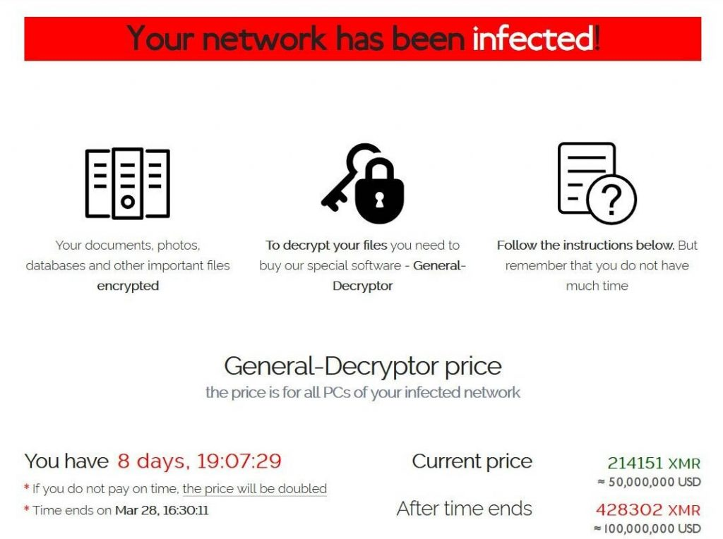 ataque ransomware acer