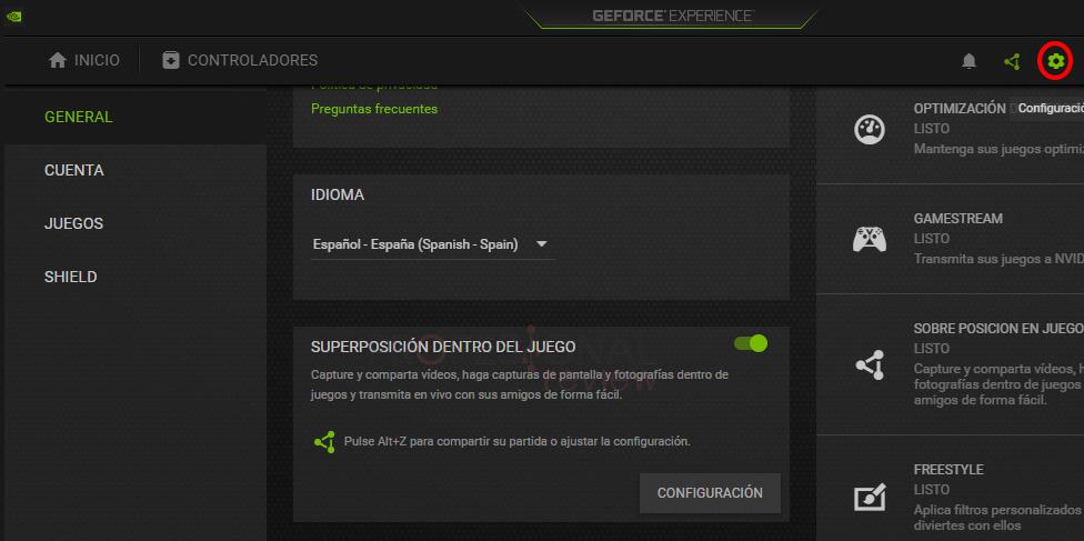 actualizar drivers NVIDIA automáticamente