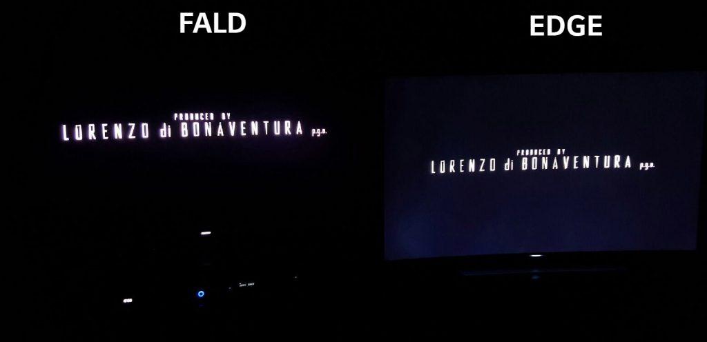 FALD vs Edge Led