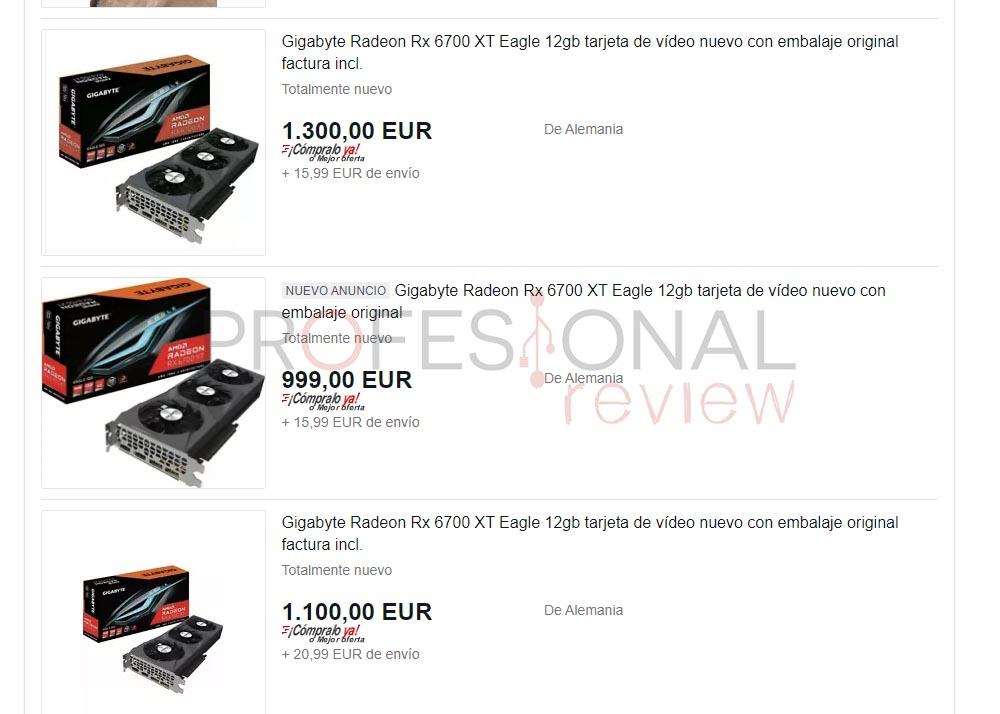 precio rx 6700 xt ebay