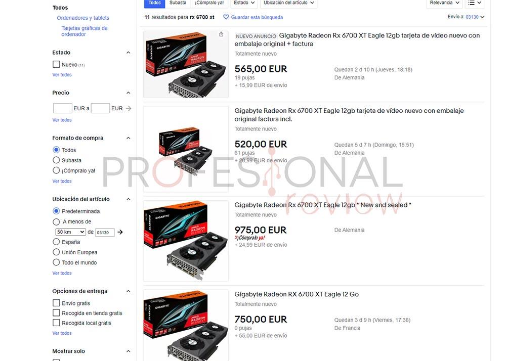 precio rx 6700 xt