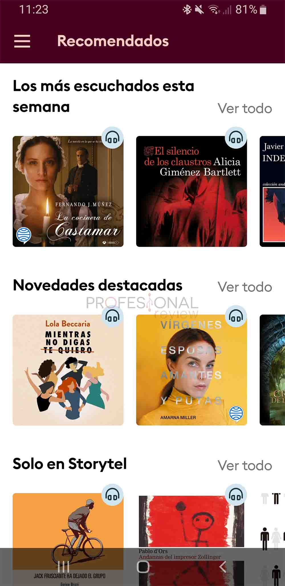 storytel vs audible android