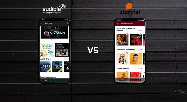 storytel vs audible