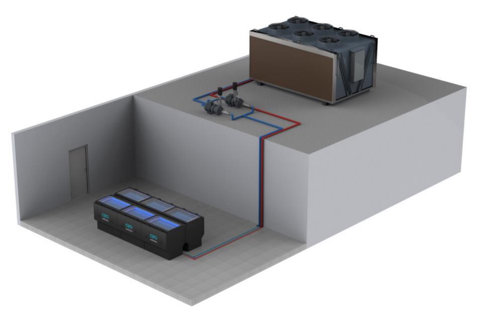 Submer refrigeración por inmersión