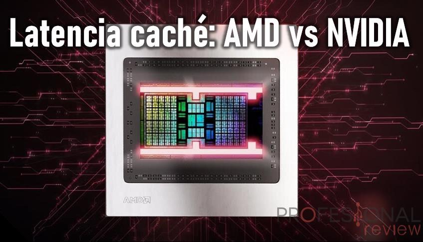 AMD RDNA 2 vs NVIDIA Ampere latencia de memoria