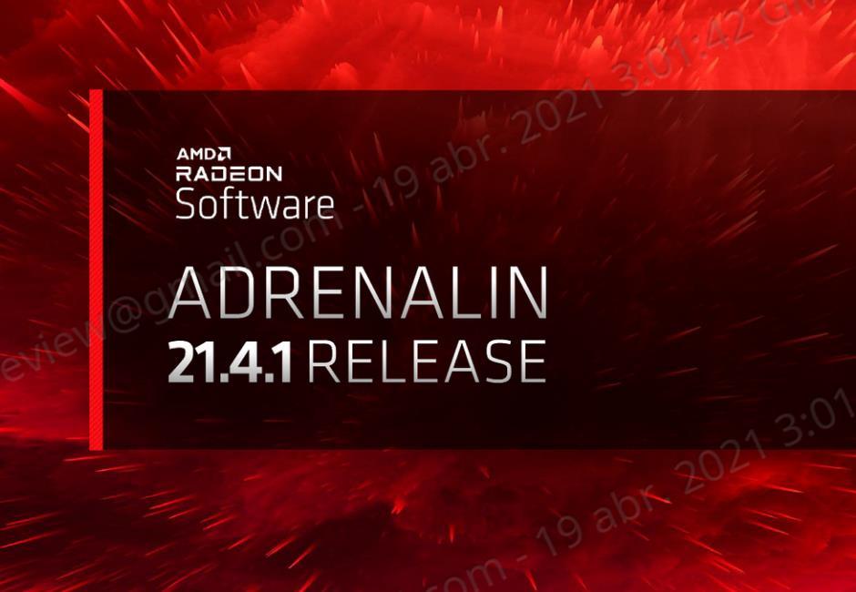 AMD Radeon Software Adrenalin 21.4.1