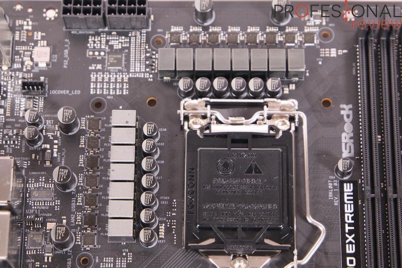 ASRock Z590 Extreme VRM