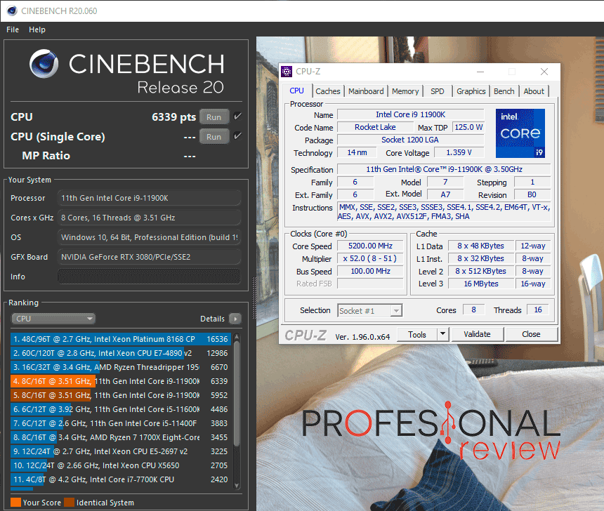 Asus ROG Maximus XIII Extreme Glacial Overclocking