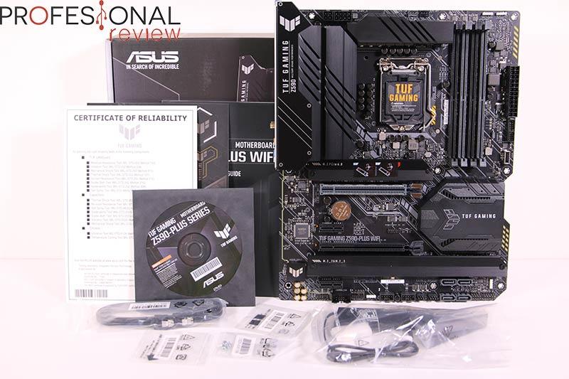 Asus TUF Gaming Z590-Plus WiFi Review