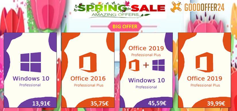Clave barata de Windows 10