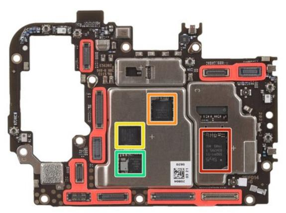 Componentes internos y System on a Chip OnePlus Nord