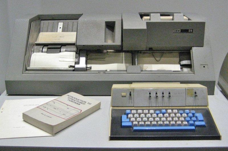 Tarjetas perforadas IBM
