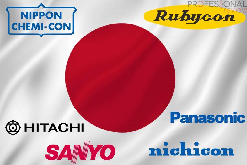 Fabricantes condensadores japoneses