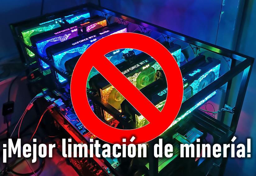 Limitacion mineria NVIDIA RTX 3060