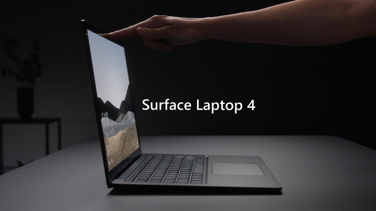 Microsoft Surface Laptop 4 es anunciado y llega el 15 de abril