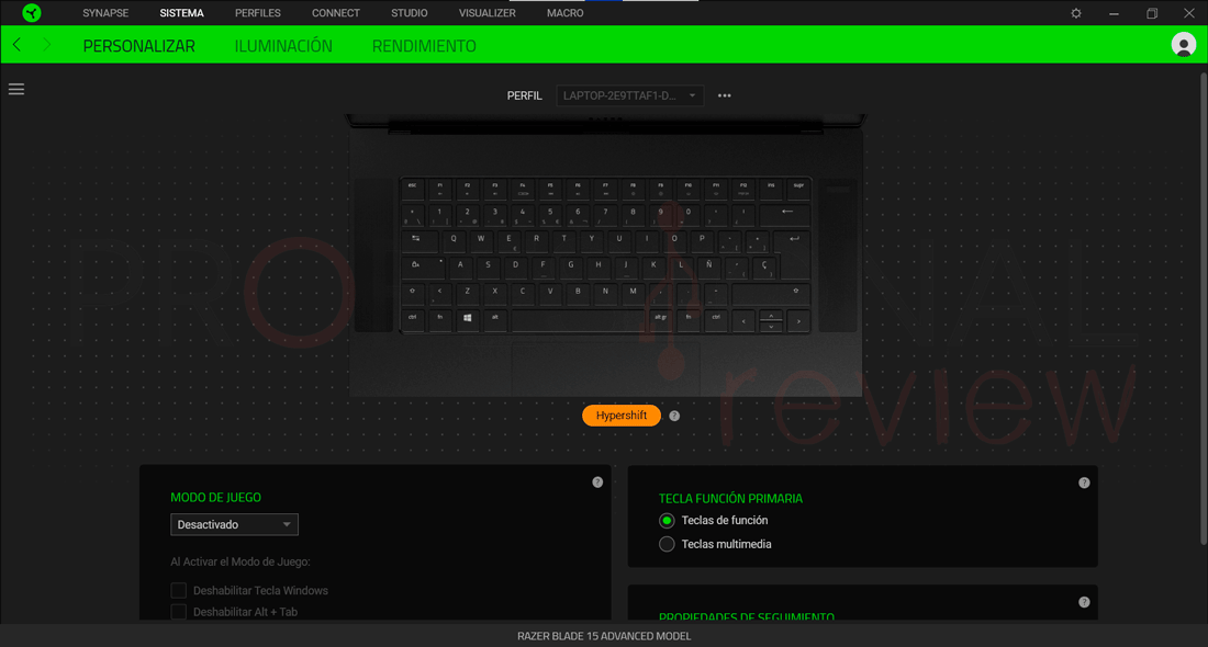 Razer Blade 15 Software