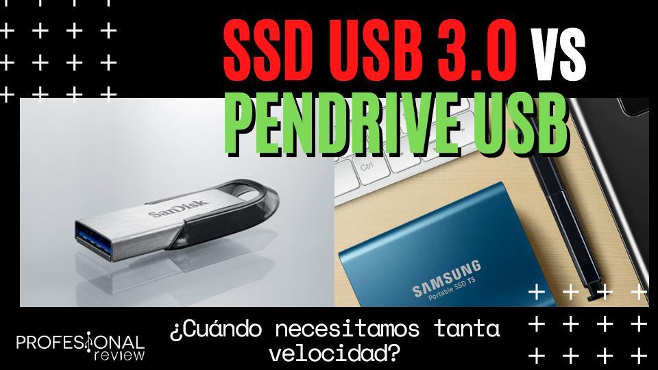 SSD USB 3.0 vs Pendrive USB