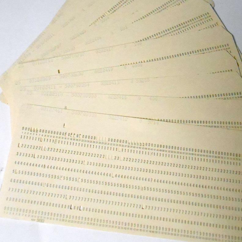Tarjetas perforadas 5081