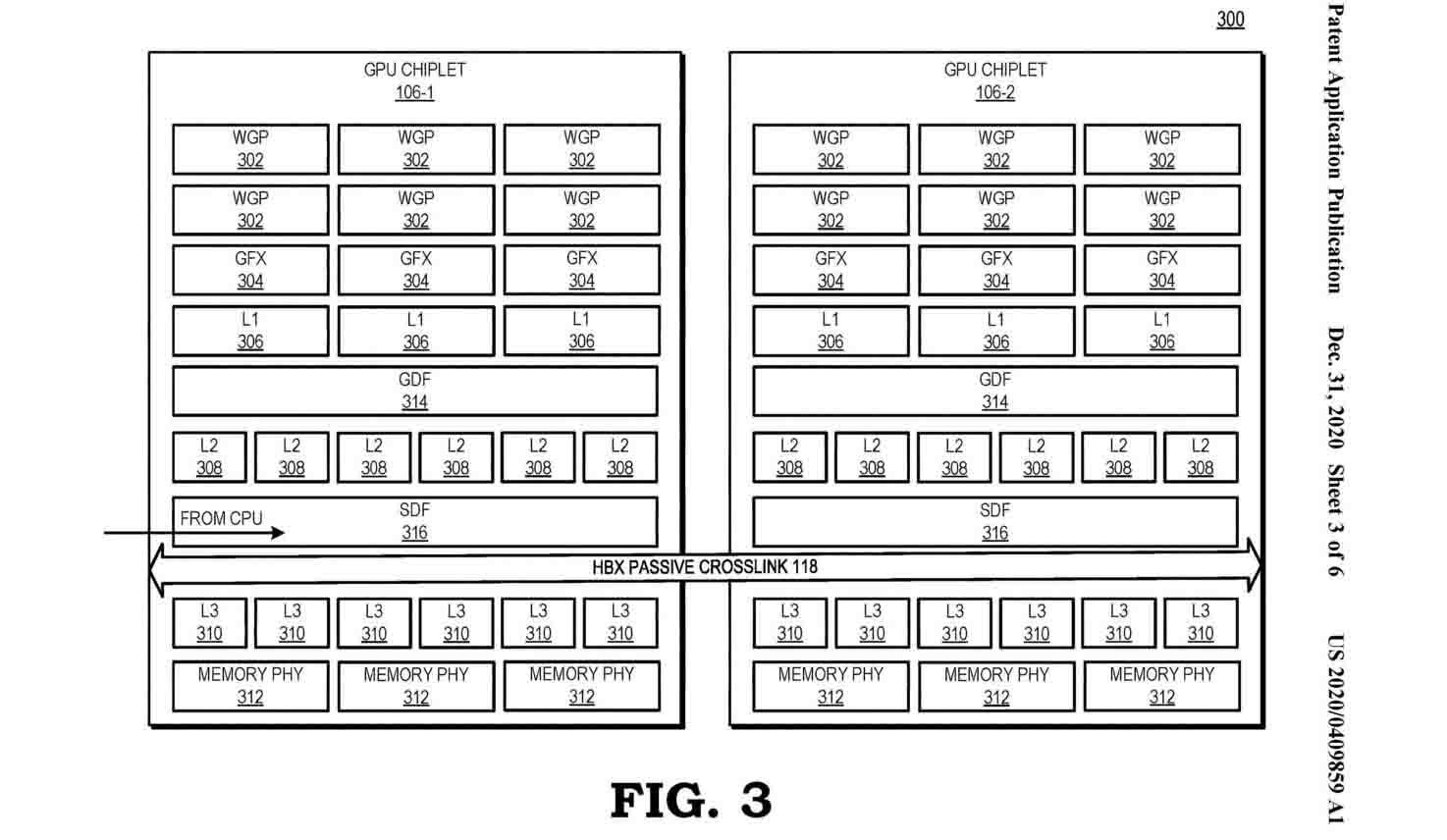 patente AMD arquitectura MCM
