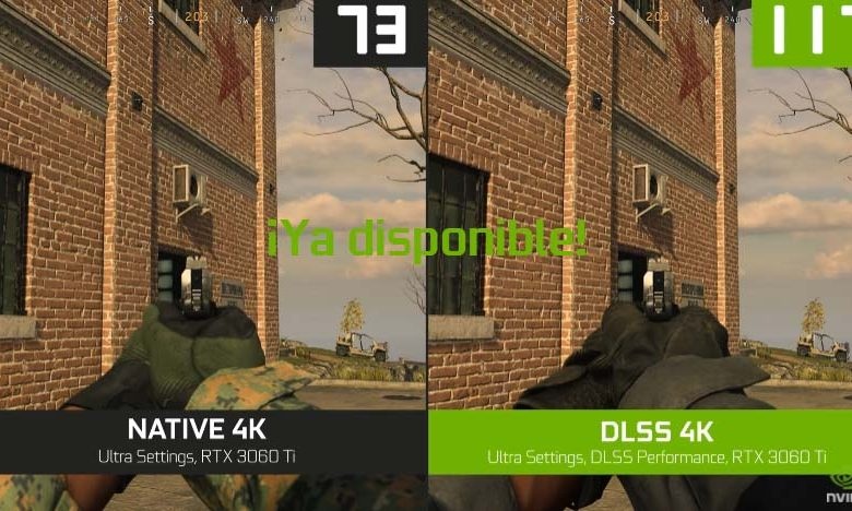 call of duty dlss