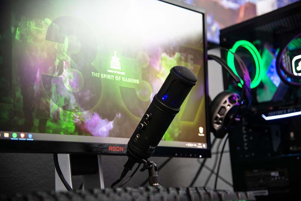 micrófono streaming