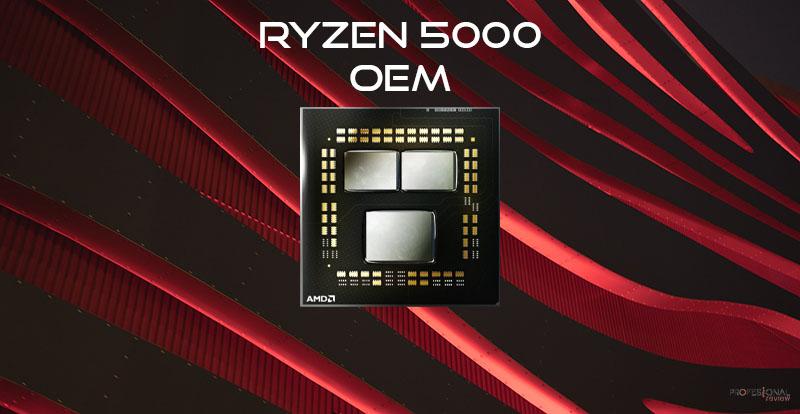 Llegan los AMD Ryzen 7 y 9 OEM con bajo consumo para sobremesas