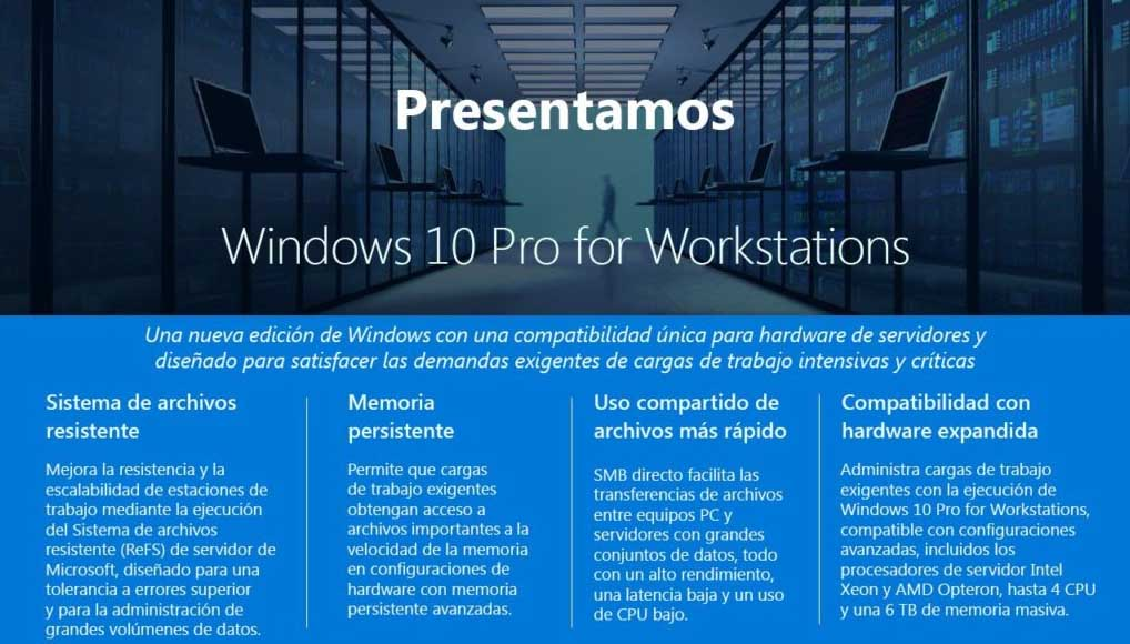 windows 10 workstations