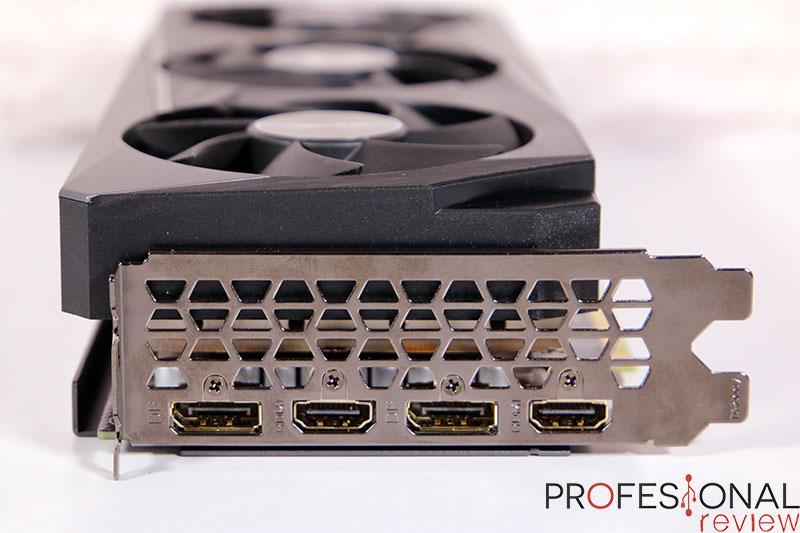 AORUS RTX 3060 ELITE 12G puertos