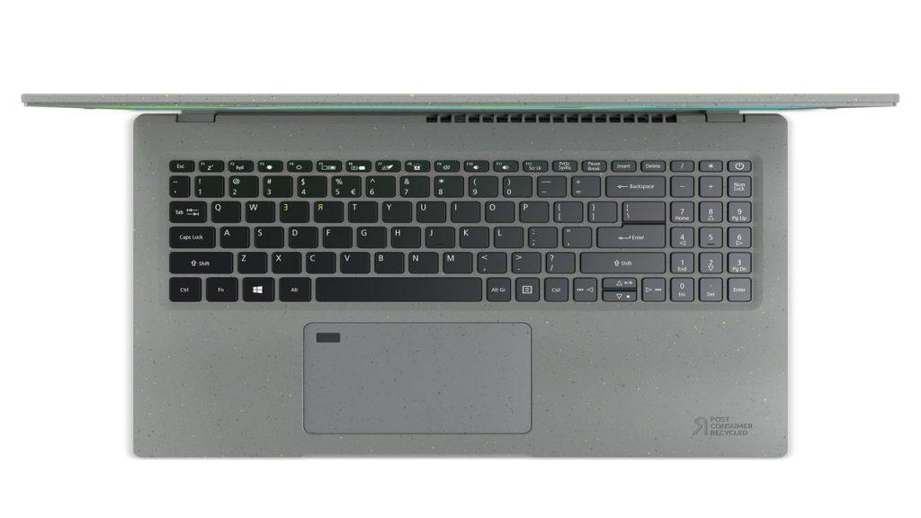 teclado reciclado acer aspire