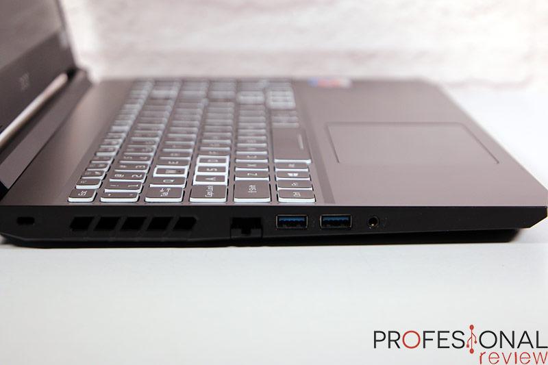 Acer Nitro 5 AN515-45 Puertos