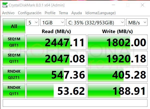 Acer Nitro 5 AN515-45 SSD