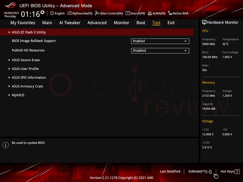 cómo actualizar BIOS Asus