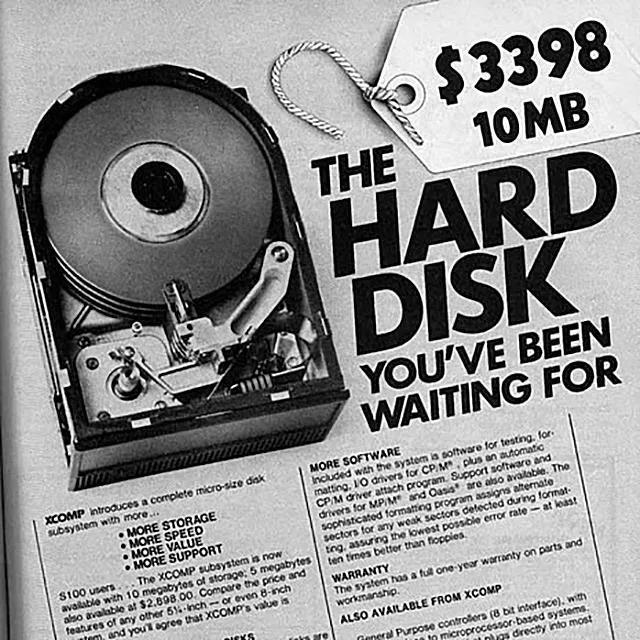 Disco duro 10MB
