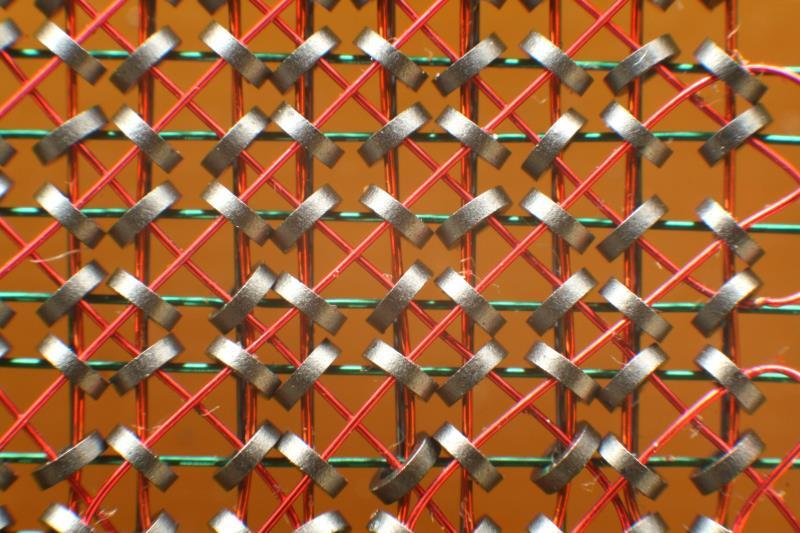 Memoria de nucleos magneticos RAM