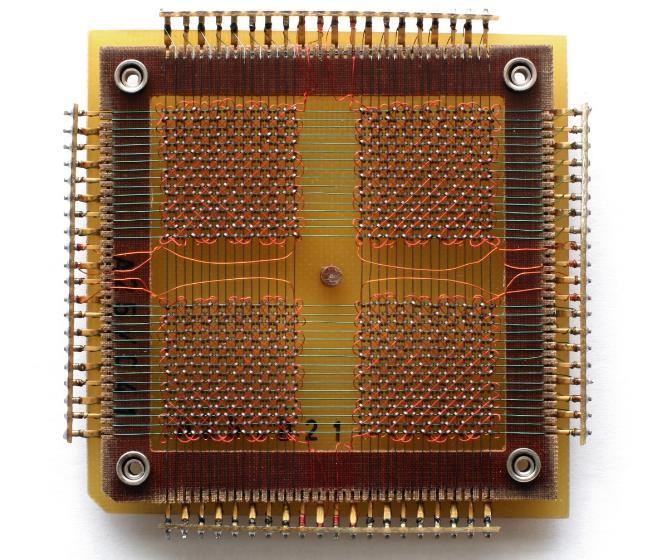 Memoria de núcleos magnéticos