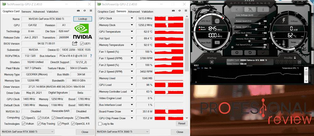 Nvidia RTX 3080 Ti Overcloking