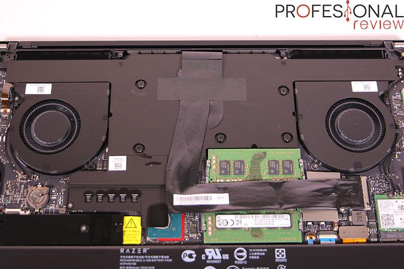 Razer Blade 15 Advanced Model (RTX 3070) Disipador