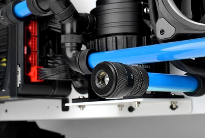 Refrigeracion liquida custom valvula de drenado
