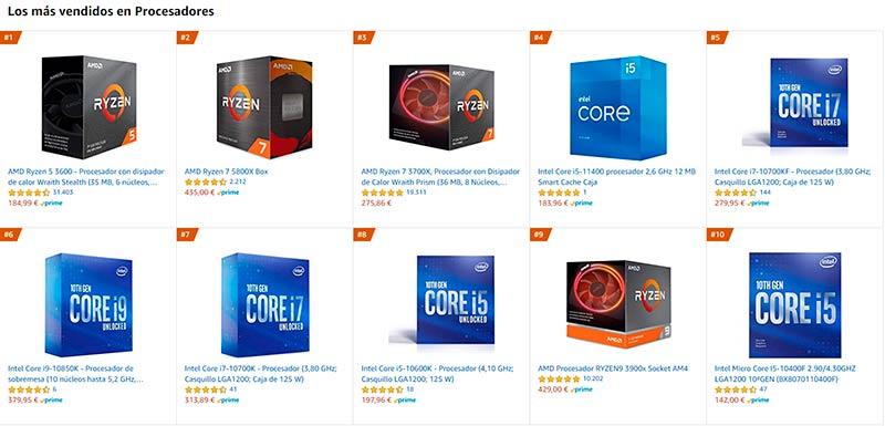 CPUs AMD Steam cuota 30%