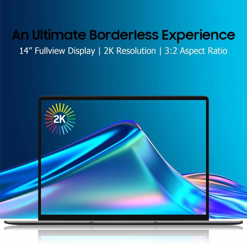 chuwi corebook x pantalla 2k