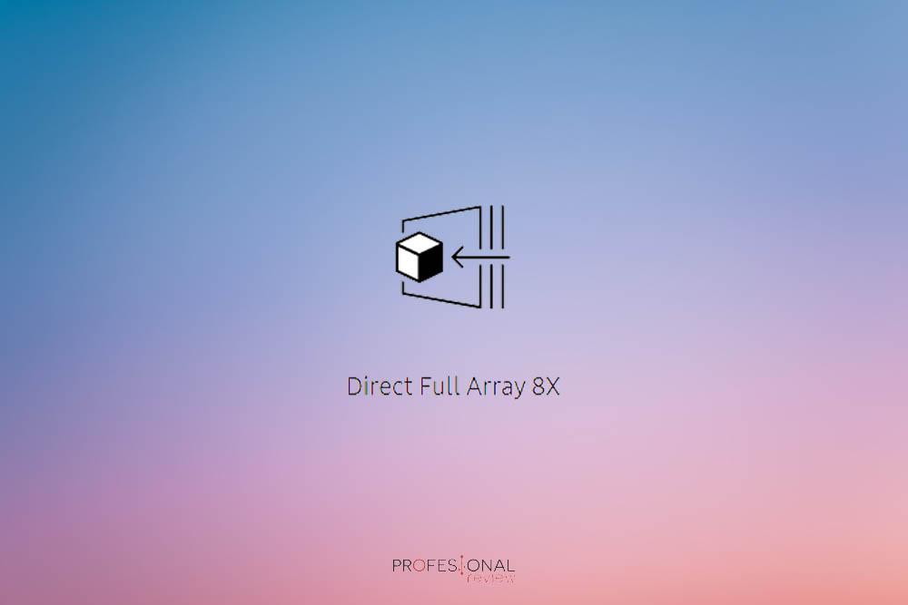 Direct Full Array 8X