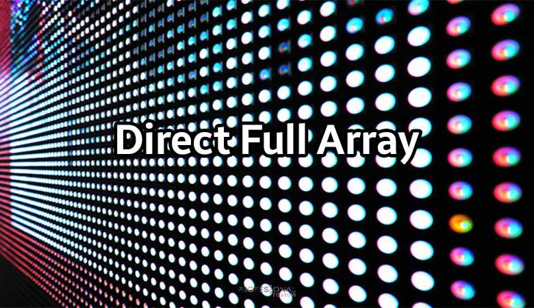 direct full array